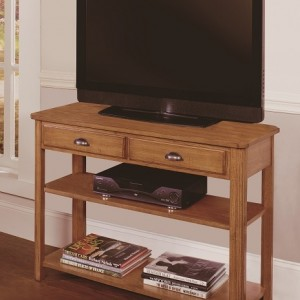 101409large null oak formica top media console