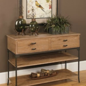 201309large null oak and metal media console