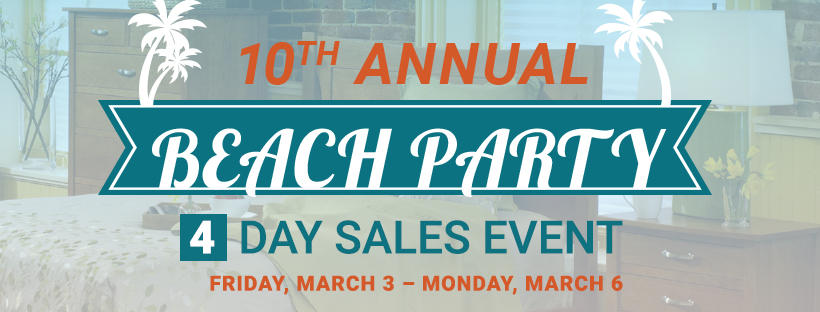 10th Annual Meyers Furniture Beach Party